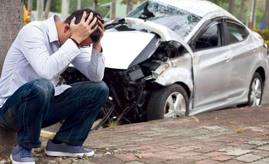 accidente de tráfico grave